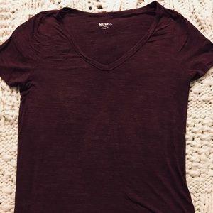 Merona v-neck tee shirt